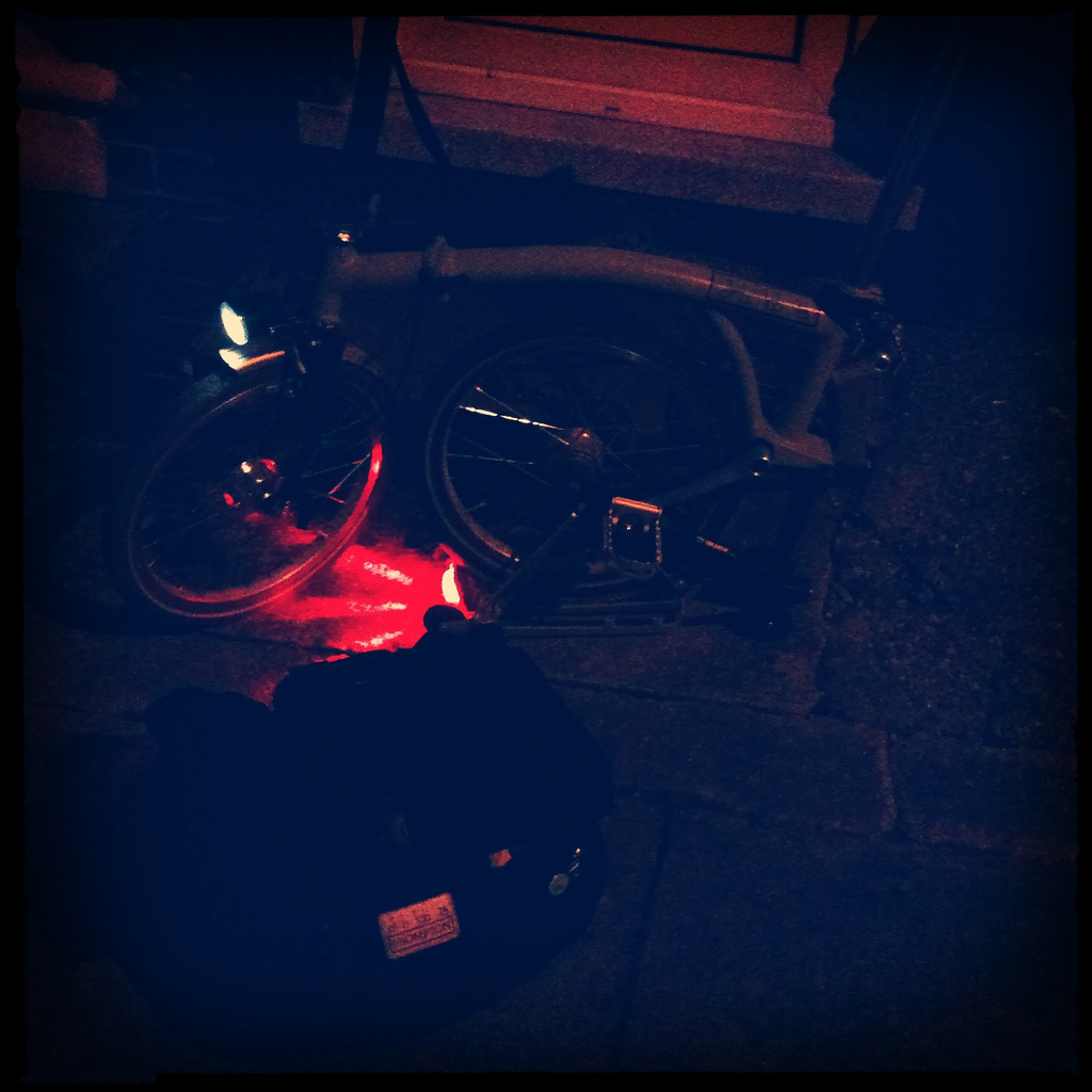 Brompton in the dark