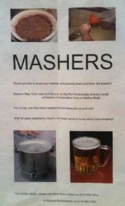 Beeston Beer Club poster